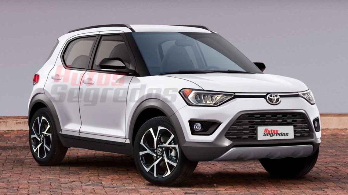 Parabrisas   Se viene un nuevo SUV de Toyota con la base ...