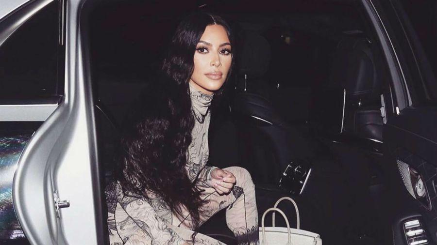 Kim Kardashian presentó a su hijo
