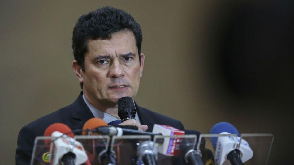 El ex juez del Lava Jato, Sergio Moro.