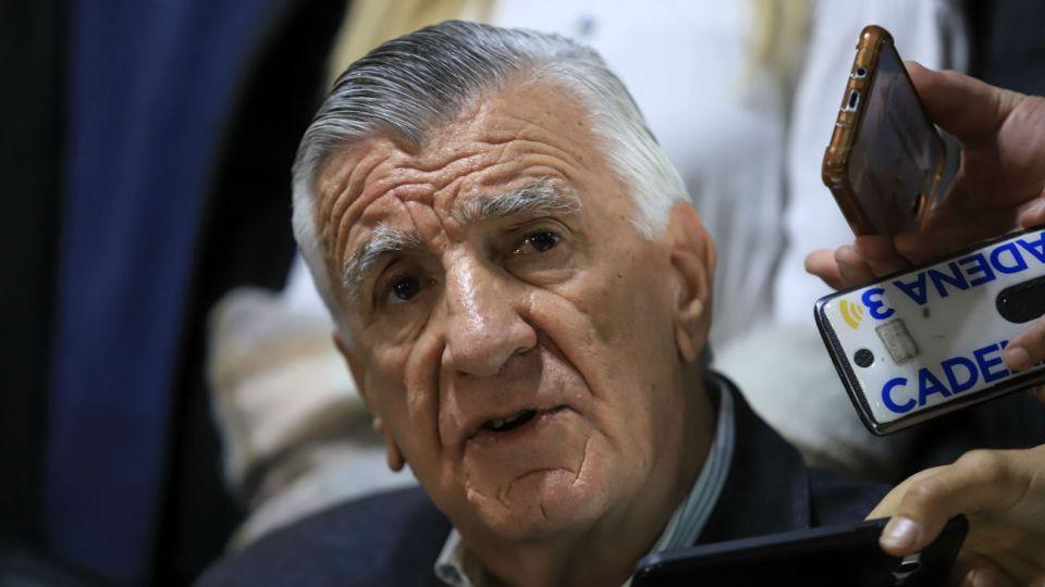 El presidente del Consejo Nacional del PJ, José Luis Gioja.