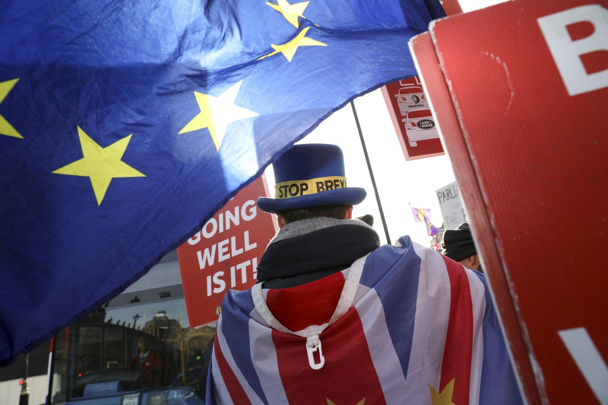 U.K. Parliament Votes to Rewrite Brexit Divorce