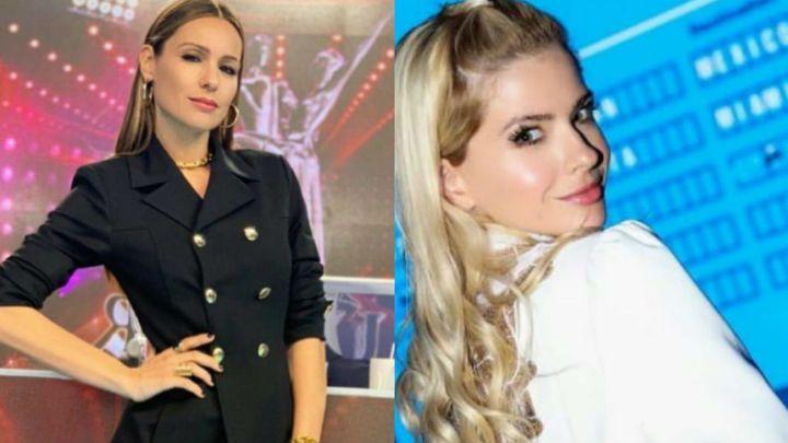 Pampita reveló la conversación que tuvo con la China Suárez tras la polémica foto del alfajor