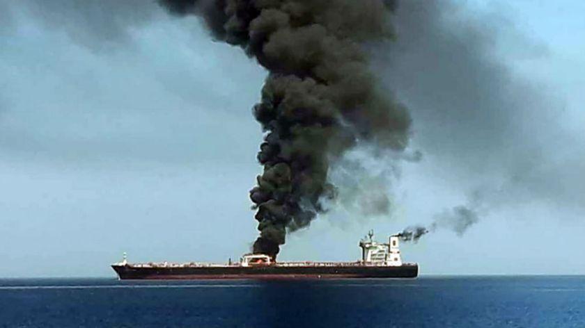 Acusaciones y tensión tras el ataque a dos petroleros en el Golfo