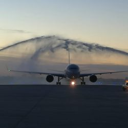 La nueva ruta es la única conexión directa entre ambos destinos y se operará con el Boeing 767-300.