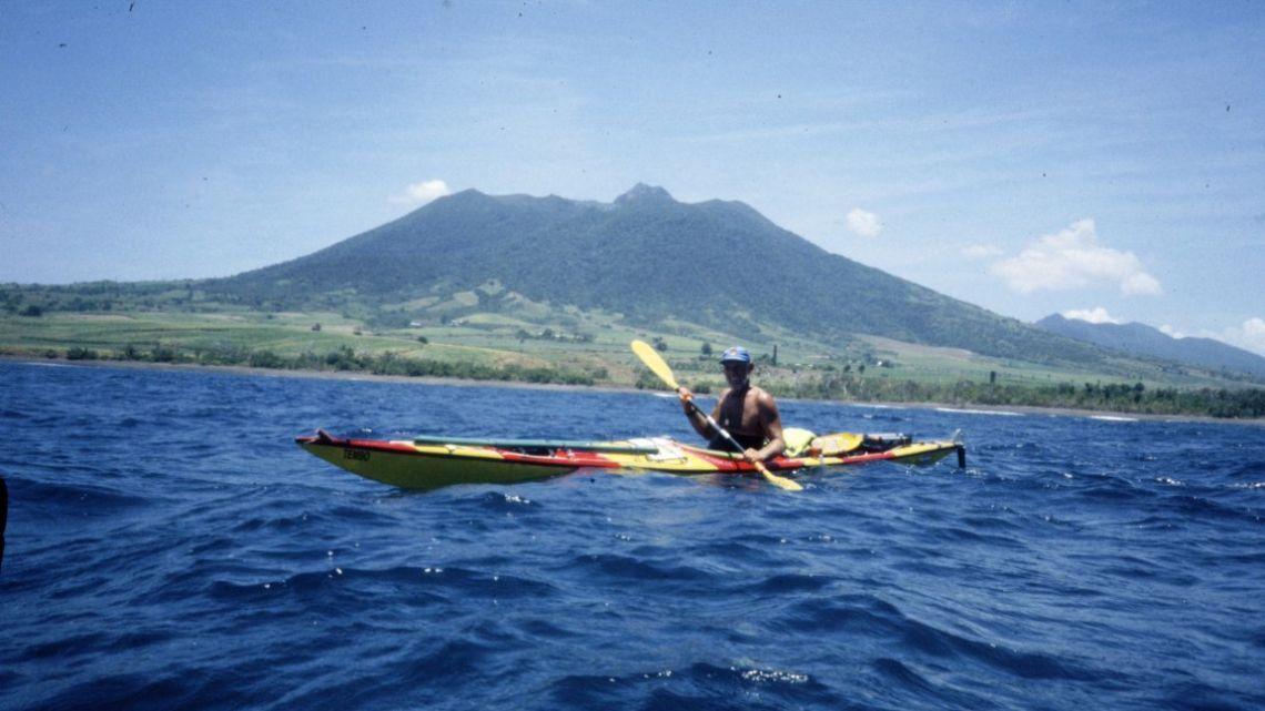 Alfredo Barragán revive el cruce en kayak por el Mar de las Antillas