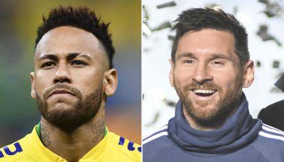 Neymar y Lionel Messi