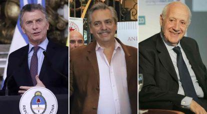 Este domingo se relanza la campaña: los spots de Macri, Fernández y Lavagna