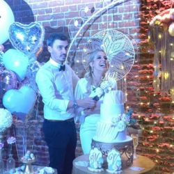Virginia Gallardo casamiento civil