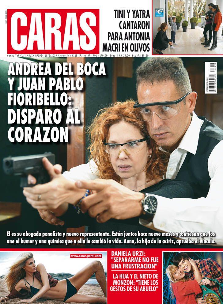 Andrea del Boca y Juan Pablo Fioribello: disparo al corazón