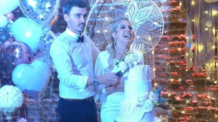 ¡Viva el amor! Virginia Gallardo se casó con su novio Martín Rojas