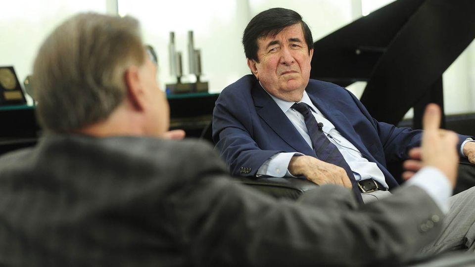 Duran Barba y Miguel Angel Pichetto en entrevista con Jorge Fontevecchia