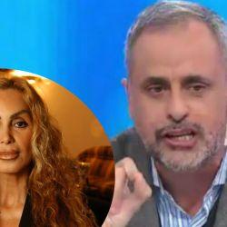 Beatriz Salomón y Jorge Rial