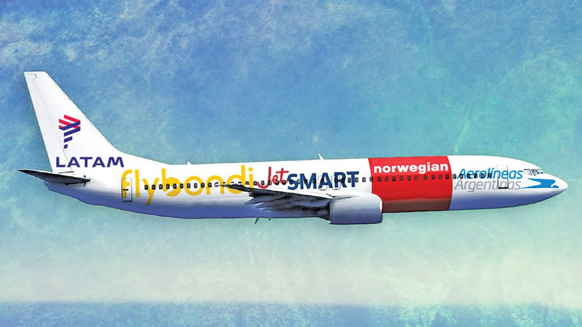 A new era: the arrival of the low cost airlines.