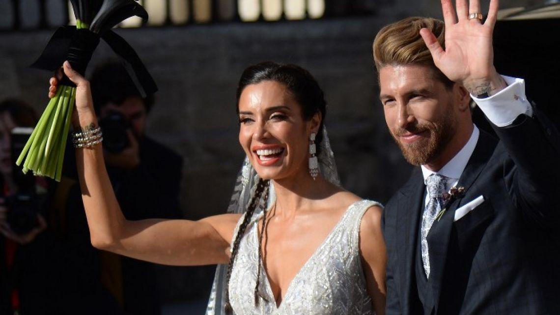 La Boda de Sergio Ramos y Pilar Rubio