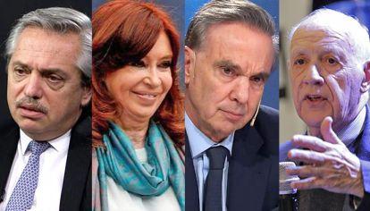 Iguales y distintos. Alberto Fernández, Cristina Kirchner, Miguel Angel Pichetto, Roberto Lavagna y Juan Manuel Urtubey.