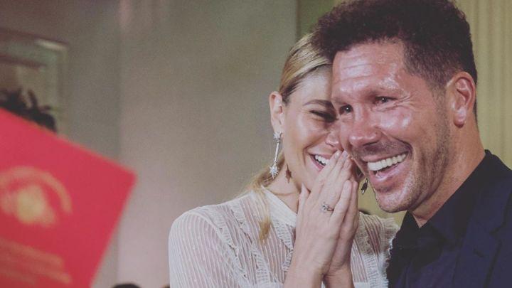 La boda de Diego Simeone y Carla Pereyra