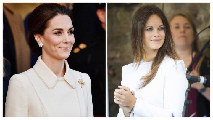 La Princesa Sofía copió el vestido a Kate Middleton
