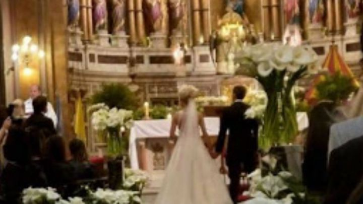 Toda la intimidad de la boda de Virginia Gallardo