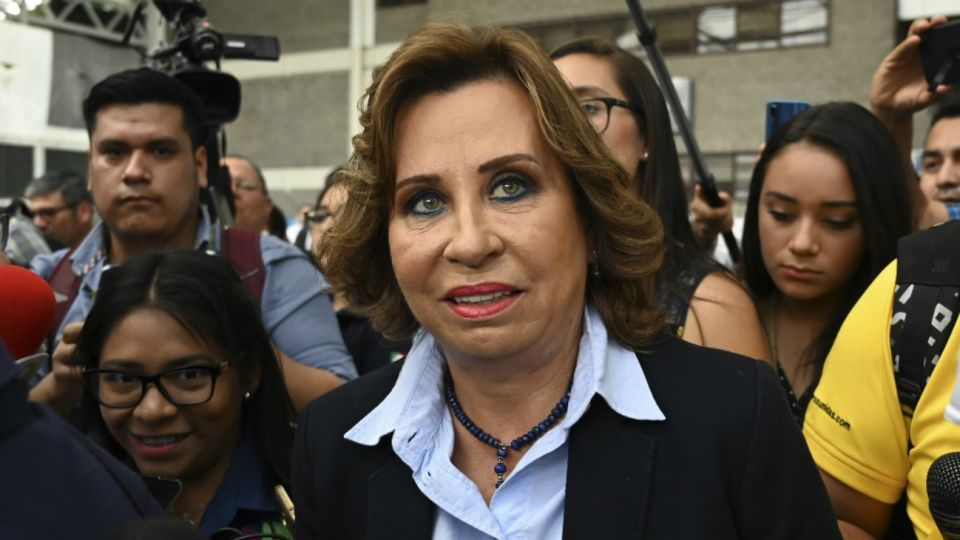Sandra Torres guatemala