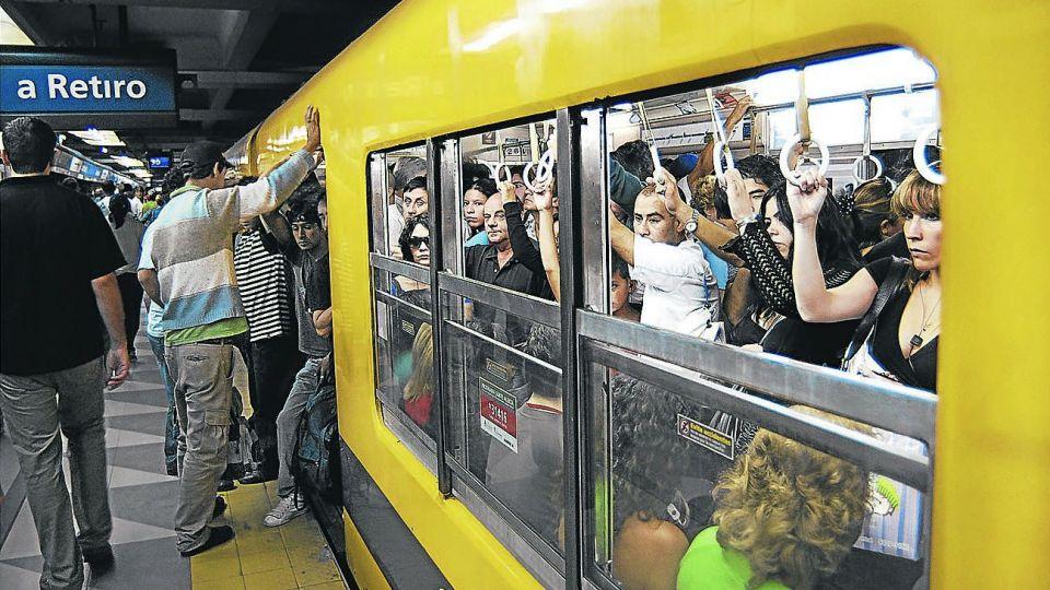 Subte de Buenos Aires.