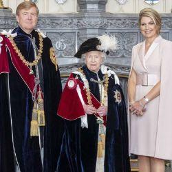 Garter Day: así se preparaba el castillo de Windsor, con Isabel II de anfitriona y Máxima de invitada
