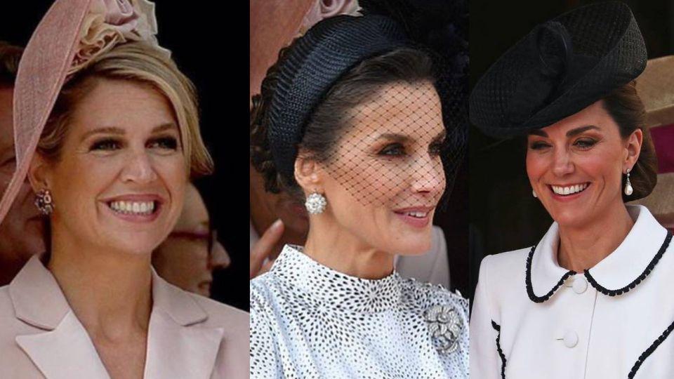 Máxima de Holanda, Letizia de España y Kate Middleton, juntas