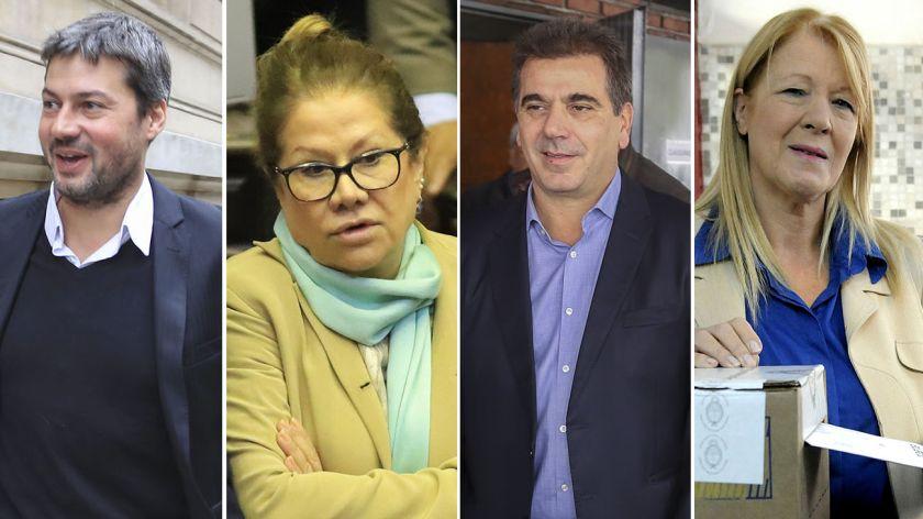 Matías Lammens, candidato a jefe de Gobierno y Mariano Recalde a Senador