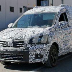 Foto espía del Renault Kangoo 2020. Crédito: Motor.es.