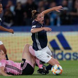 Histórico empate de Argentina en el mundial de fútbol femenino