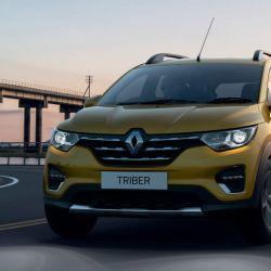 El nuevo Renault Triber se presentó en la India.