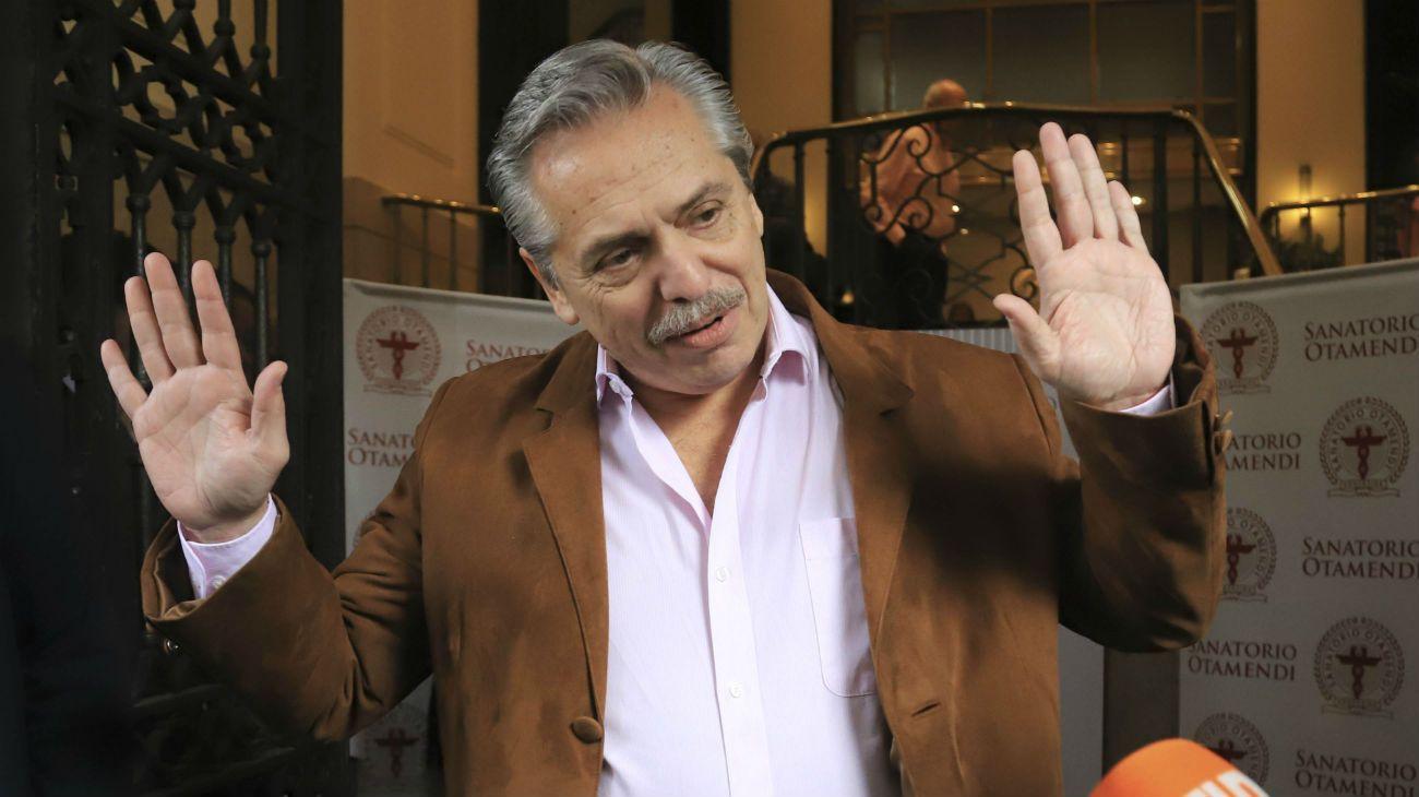El precandidato a presidente del Frente de Todos, Alberto Fernández.