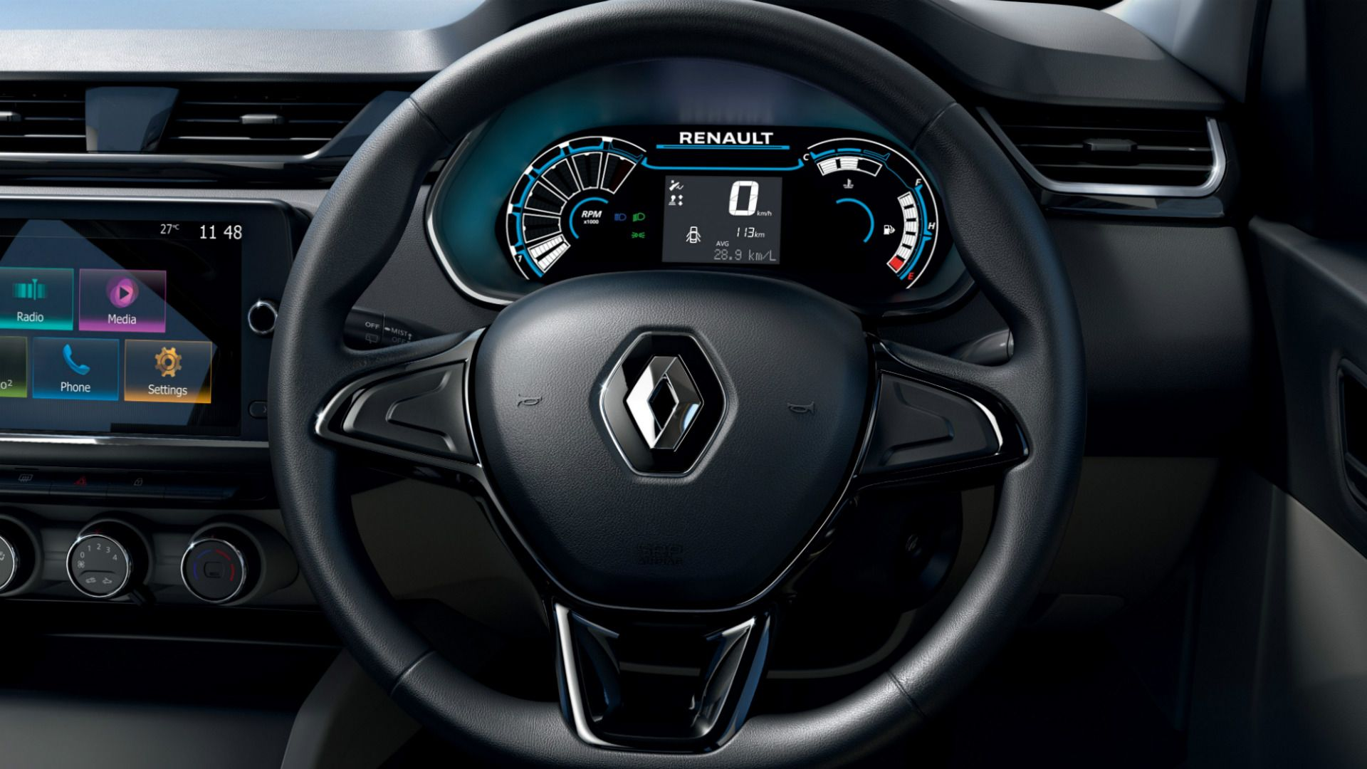 Parabrisas   Triber, el nuevo familiar compacto de Renault