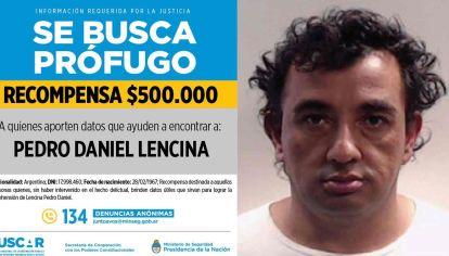 Pedro Daniel Lencina, buscado por abuso.