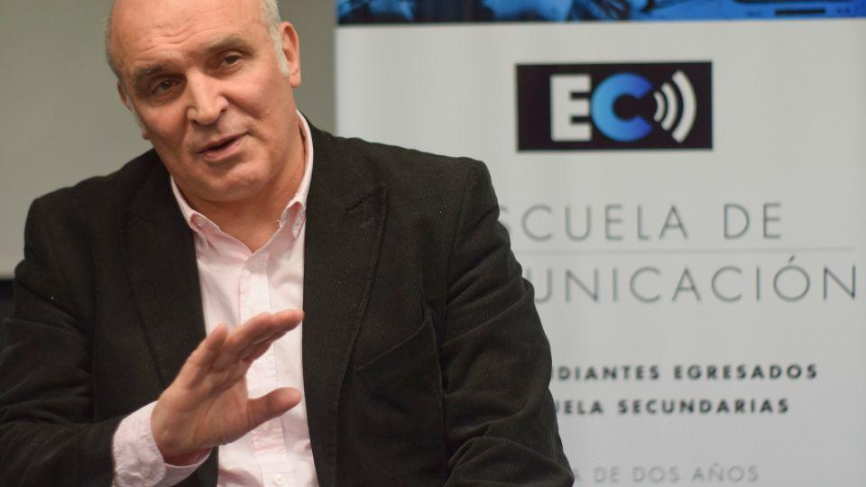 José Luis Espert en la Escuela de Comunicación de Perfil.