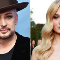 Boy George y Sophie Turner