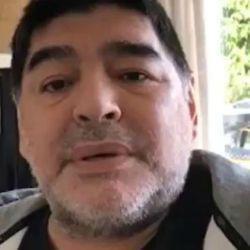 Diego Maradona, furioso en la red