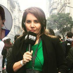 Nancy Pazos expresó su furia en la red