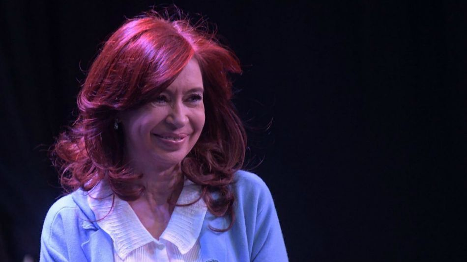 Cristina Kirchner, en el acto en Rosario.