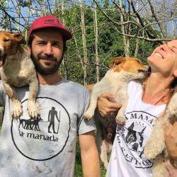 Eugenia Tobal y Francisco Garca Ibar, felices
