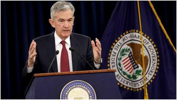Jerome Powell, presidente de la Reserva Federal americana.