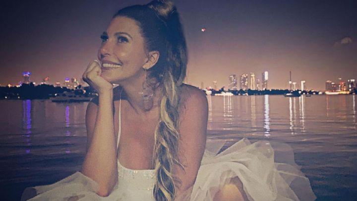 Mónica Ayos festejó su cumpleaños en un lujoso yate