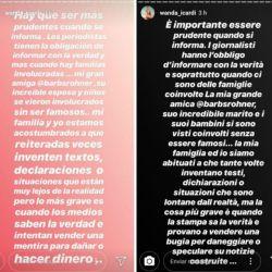 Wanda y los rumores de infidelidad de Mauro