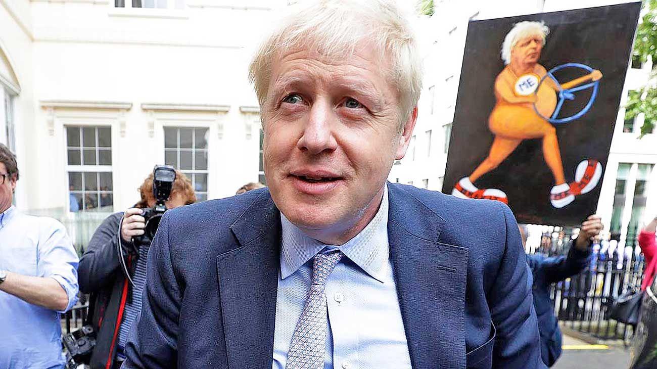 En carrera. Dentro de un mes, los 160 mil miembros del Partido Conservador elegirán a su líder y próximo primer ministro. Si Johnson gana, deberá hacerse cargo del proceso del Brexit.
