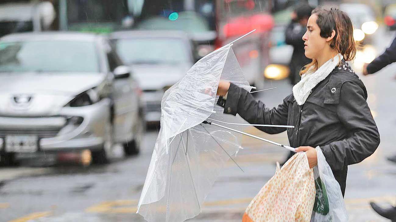 Tormenta. Junio, cerca del récord histórico de lluvias.