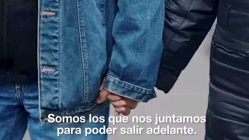 El primer spot de la campaña del Frente de Todos no mostró ni a Cristina ni a Alberto Fernández.
