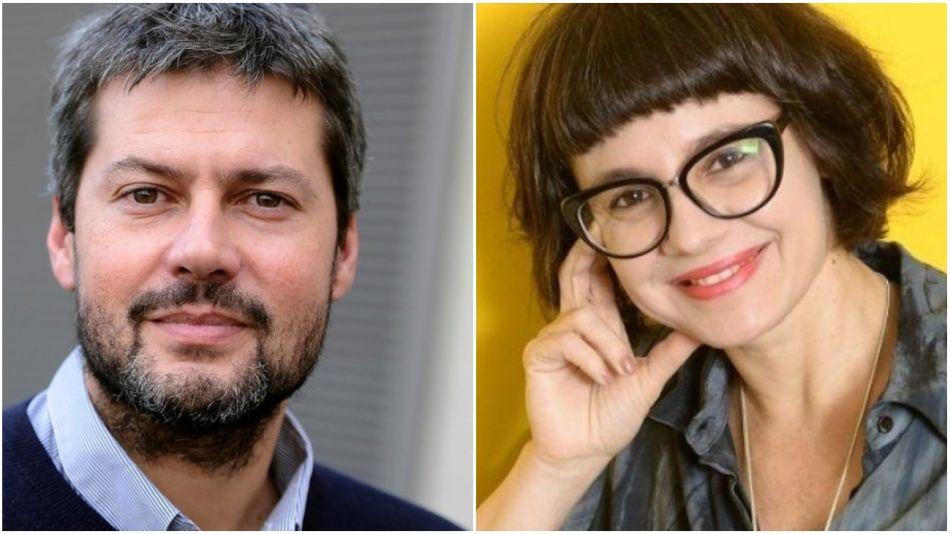 Matías Lammnes y Gisela Marziotta.