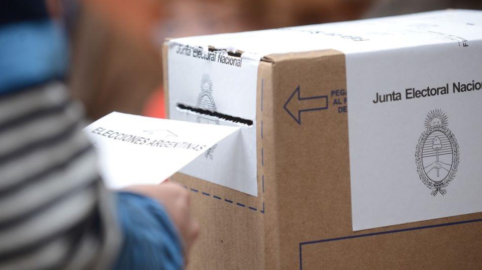 Urna de voto.