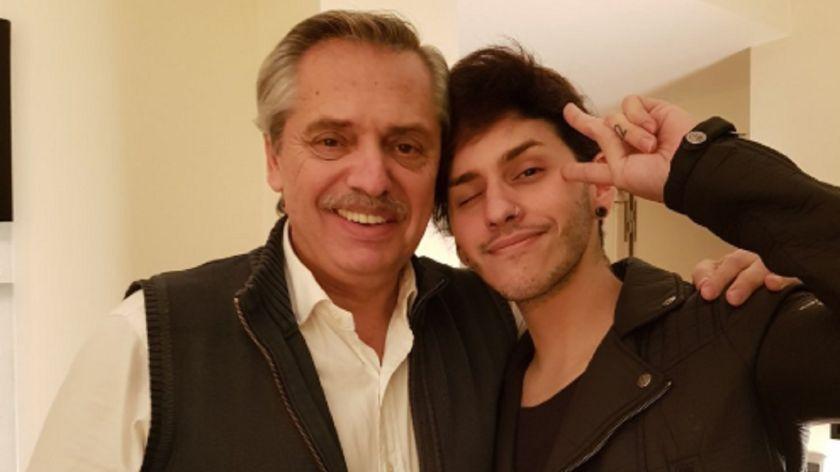 Alberto Fernández habló de su hijo cosplay y drag queen