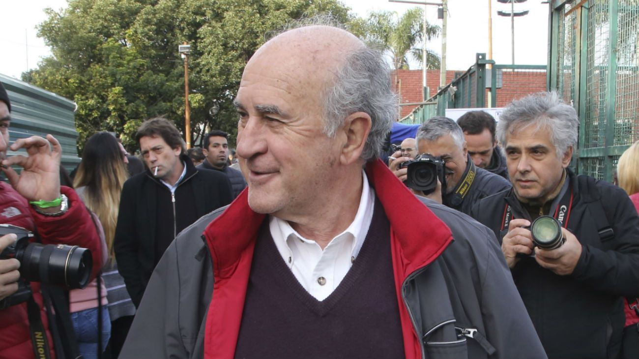 El precandidato a Senador por Neuquén del Frente de Todos, Oscar Parrilli