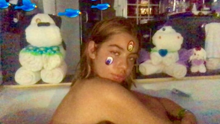 Las atrevidas y provocativas fotos de Anna Del Boca en la bañera